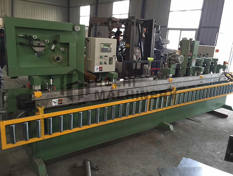 Abrasive belt Skiving and Gluing Machine