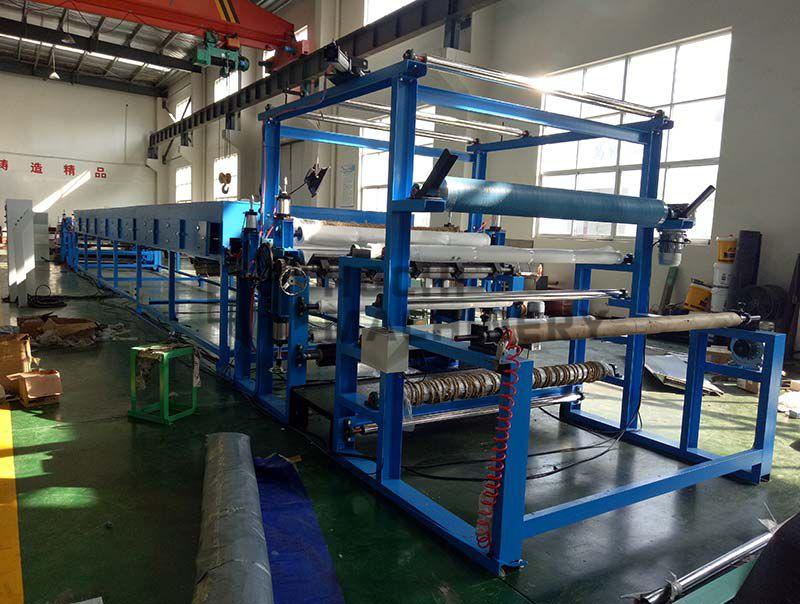 HC-LV Abrasive Paper Velcro Laminating Machine